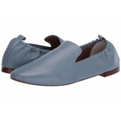 エアロソールズ レディース スリッポン・ローファー シューズ Rossie Mid Blue Leather