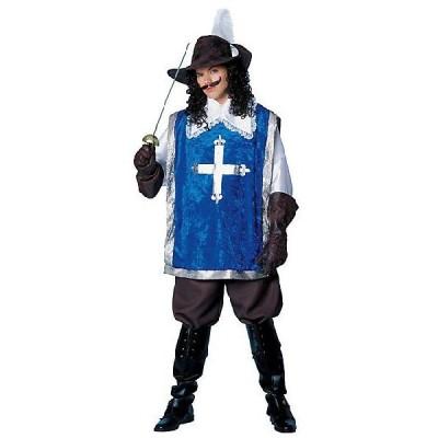 中世 騎士 三銃士 マスケット コスプレ 衣装 ハロウィン デラックス 大人用コスチューム