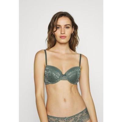 レディース ファッション LIANNE GEO - Underwired bra - green