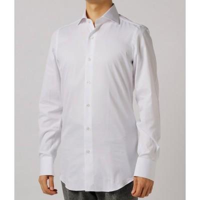 【FINAL SALE】フィナモレ/FINAMORE シャツ メンズ MILANO ワイドカラードレスシャツ ZANTE-840628