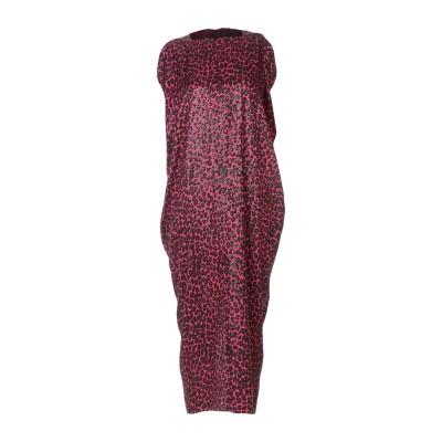 マイケル・コースコレクション MICHAEL KORS COLLECTION 7分丈ワンピース・ドレス フューシャ 2 シルク 100% 7分丈ワン