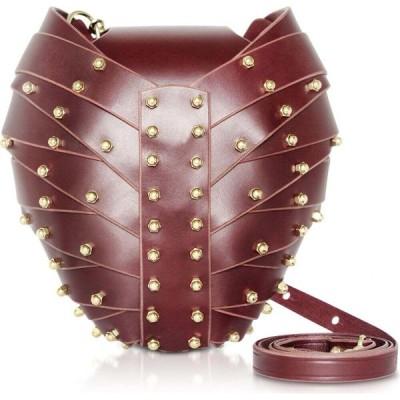 ウナブルケ Una Burke レディース バッグ Merlot Leather Heart Bag Burgundy