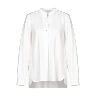 カリバン CALIBAN ブラウス ホワイト 40 コットン 48% / 指定外繊維(テンセル)® 24% / レーヨン 22% / ポリエステル