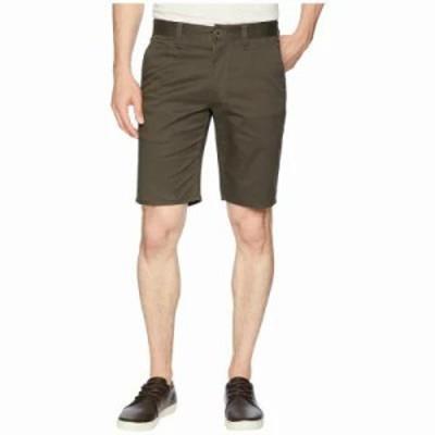 ブリクストン ショートパンツ Toil II Hemmed Shorts Moss
