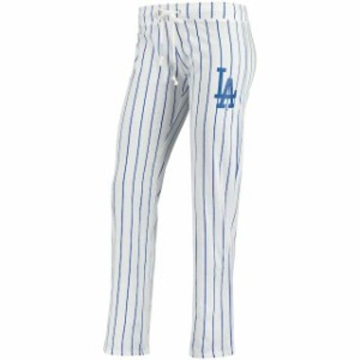 Concepts Sport コンセプト スポーツ スポーツ用品  Concepts Sport Los Angeles Dodgers Womens White Vigor Pinstripe
