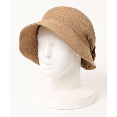 polcadot / リボン付きブレードキャスケット WOMEN 帽子 > キャスケット