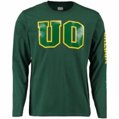 Fanatics Branded ファナティクス ブランド スポーツ用品  Oregon Ducks Green Eastwood Long Sleeve T-Shirt