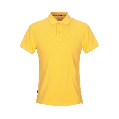ブラウアー BLAUER ポロシャツ イエロー 3XL コットン 100% ポロシャツ