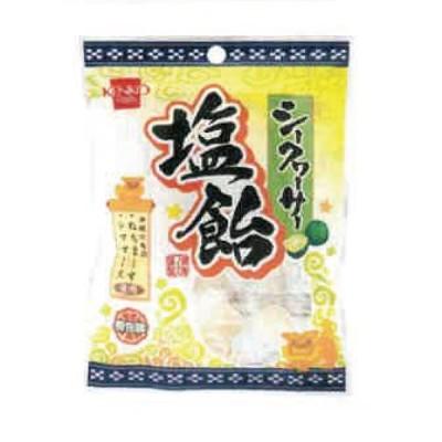 1001233-kf シークヮーサー塩飴 70g【健康フーズ】【1〜4個までメール便対応可】