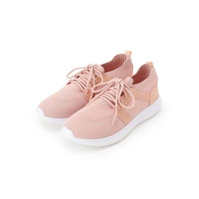 ピンクアドベ pink adobe <軽量>ニットスニーカー (ベビーピンク)