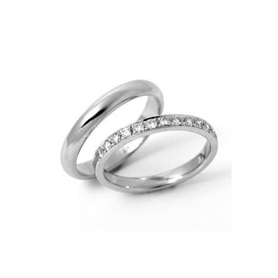 結婚指輪 安い プラチナ マリッジリング ダイヤモンド 0.21ct 00030_00117