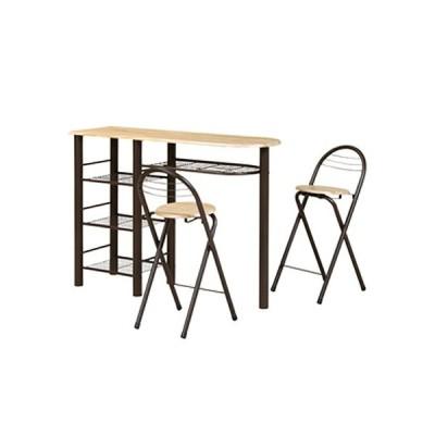 カウンターテーブルセット ダイニングセット テーブル チェア 3点セット カウンターテーブル カフェ ハイテーブル ハイタイプ カウンターチェア CT-1200