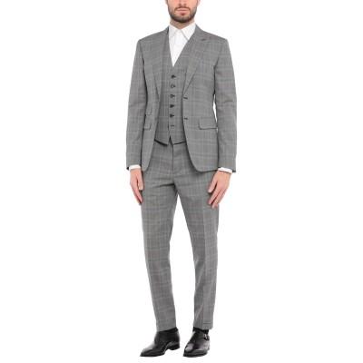 ディースクエアード DSQUARED2 スーツ グレー 48 バージンウール 100% スーツ