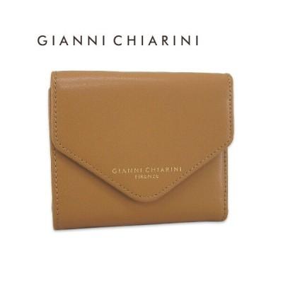 ジャンニキアリーニ/GIANNI CHIARINI レディース 3つ折財布 PF5040D LTS/TAN/1854
