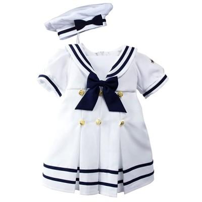 スプリング Notion ベビー Toddler ガールズ ノーティカ Nautical Sailor ドレス with ハット スタ(海外取寄せ品)