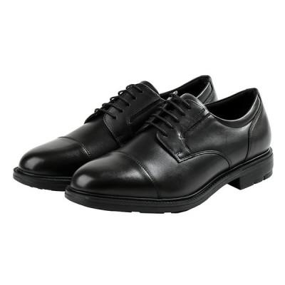 texcy luxe テクシーリュクス TU-7796 TU7796 ブラック 24.5〜28cm 革靴 ビジネスシューズ メンズ 幅広 軽量 紳士靴 アシックス商事 冠婚葬祭
