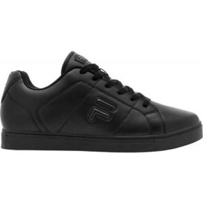 フィラ Fila メンズ スニーカー ローカット シューズ・靴 Charleston Low Top Sneaker Black/Black/Black