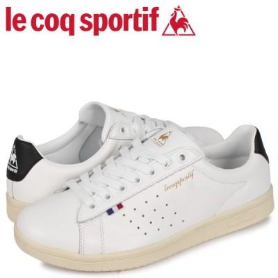 ルコック スポルティフ le coq sportif スニーカー メンズ レディース LA ローラン LA ROLAND LE ホワイト 白 QL1PJC18WB