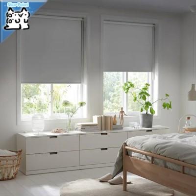 【IKEA Original】FRIDANS -フリダンス- 遮光ローラーブラインド グレー 100x195 cm