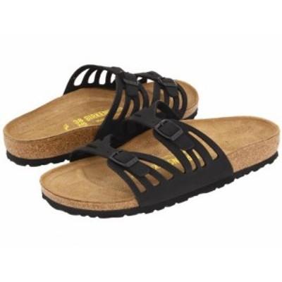 Birkenstock ビルケンシュトック レディース 女性用 シューズ 靴 サンダル Granada Birkibuc(TM) Black Birkibuc(TM)【送料無料】