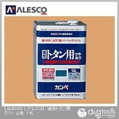 カンペハピオ 油性トタン用 14L クリーム色