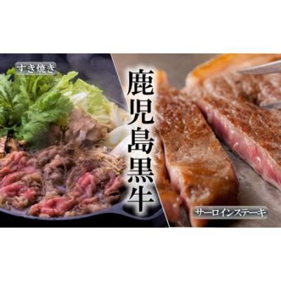 E5-1603/鹿児島黒牛サーロインステーキ・すきやきセット