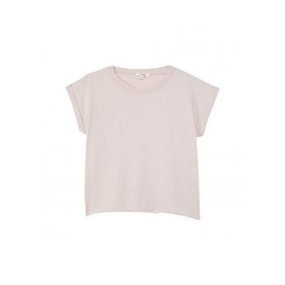Splendid Littles スプレンデッド 女の子用 ファッション 子供服 パーカー スウェット ジャケット Eco Short Sleeve Sweatshirt Top (Big Kids) - Blush