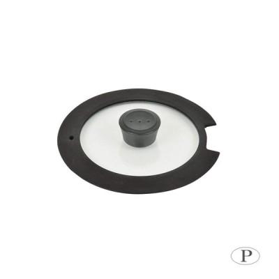 パール金属 ルクスパン 18cm用ガラス蓋 HB-3586    キャンセル返品不可