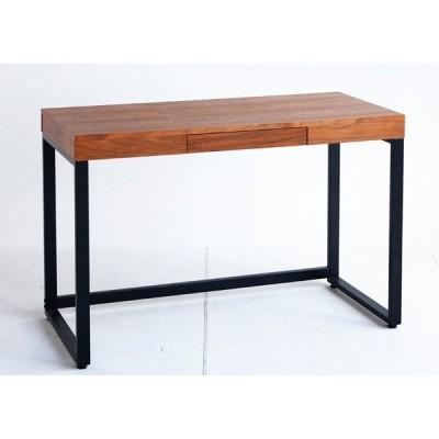 ウォールナットデスク Walnut Desk 横幅120cm 天然木 T-2314BR