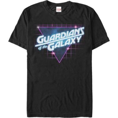 フィフス サン Fifth Sun メンズ Tシャツ トップス Marvel Guardians of the Galaxy Retro Logo T-Shirt