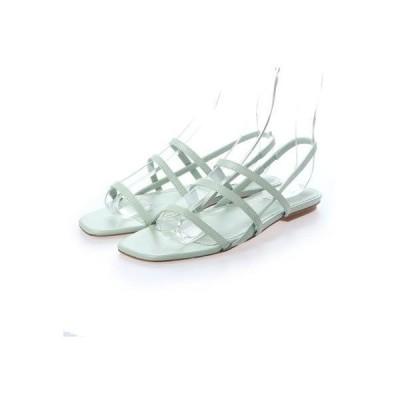 ペリーコ サニー PELLICO SUNNY PF20-0010 スクエアトゥデザインストラップサンダル (MINT GREEN)