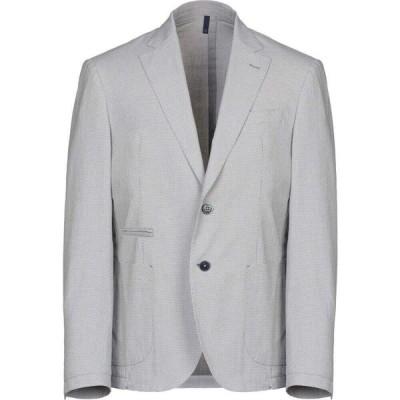 ドメニコ タリエンテ DOMENICO TAGLIENTE メンズ スーツ・ジャケット アウター blazer Grey