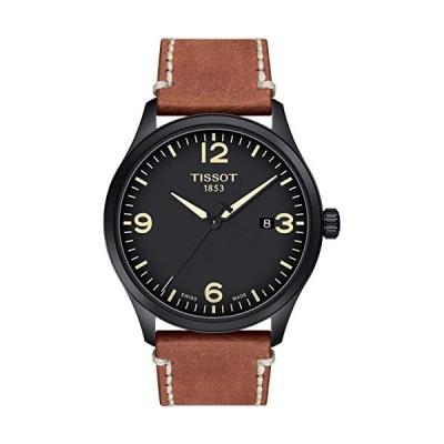 TISSOT Mens Analogue Quartz Watch with Leather Strap T1164103605700 並行輸入品