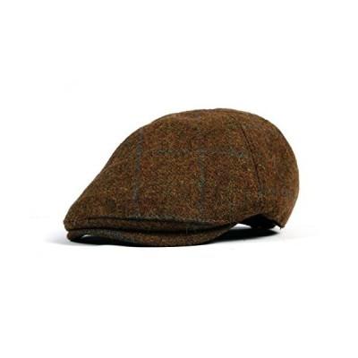 WITHMOONS Wool Newsboy Hat Flat Cap SL3022 (Brown)【並行輸入品】