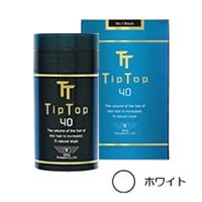 薄毛隠し Tip Top ティップトップ40【No.7ホワイト】 40g 【取り寄せ商品】 - 定形外送料無料 -