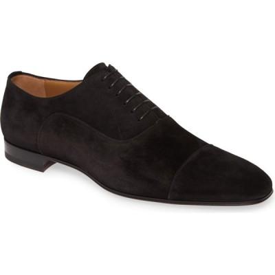 クリスチャン ルブタン CHRISTIAN LOUBOUTIN メンズ 革靴・ビジネスシューズ シューズ・靴 Greggo Cap Toe Oxford Black