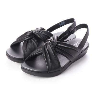 フィットフロップ fitflop TWINE SANDAL (Black)