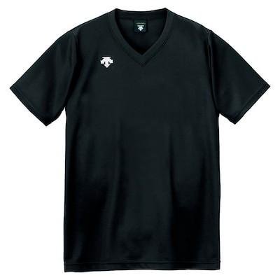 DESCENT(デサント)V首半袖ゲームシャツ(ユニセックス) DSS-4321 DSS4321-B