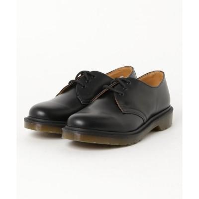ブーツ Dr.Martens ドクターマーチン 1461 PW (Black Smooth) 10078001