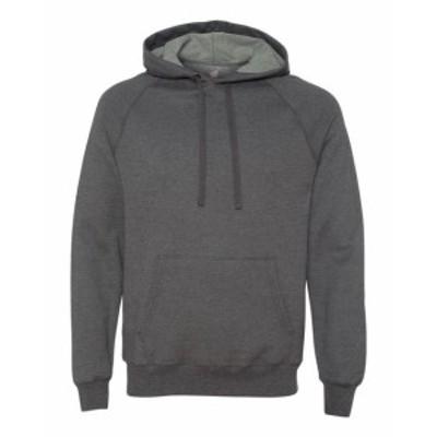 Hanes  ファッション トップス Hanes Mens 7.2 oz. Nano Pullover Hood N270 S-3XL