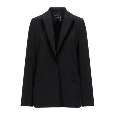 ゲス GUESS テーラードジャケット ブラック XS ポリエステル 91% / ポリウレタン 9% テーラードジャケット
