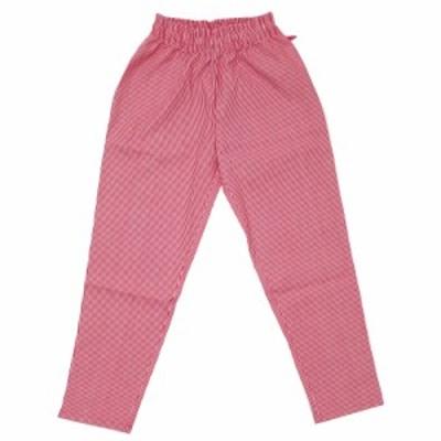 新品 クックマン Cookman Chef Pants シェフ パンツ Hickory ヒッコリー RED レッド 赤 メンズ レディース 999006092043 パンツ