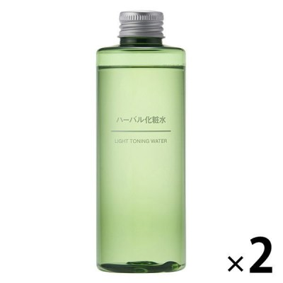 無印良品 ハーバル化粧水 200mL 2個 良品計画