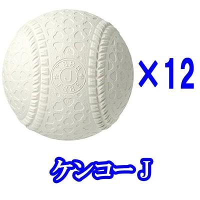 (即日発送)ナガセケンコー 少年軟式野球用試合球 JSBB公認球  J号ボール ダース売り