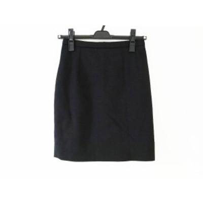 アニエスベー agnes b ミニスカート サイズ36 S レディース 黒【中古】