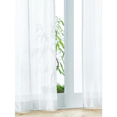YESカーテン レースカーテン R0158 ウッシャブル 遮熱 UVカット 約1.5倍ヒダ 二ツ山縫製 幅101〜200cmX丈〜120cmまで