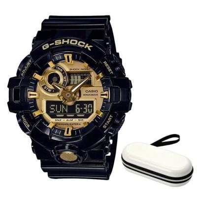 (時計ケースセット)(国内正規品)カシオ CASIO 腕時計 GA-710GB-1AJF Gショック G-SHOCK メンズ 樹脂バンド クオーツ アナデジ
