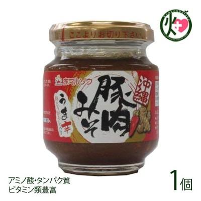 沖縄豚肉みそ うま辛 140g×1個 赤マルソウ 沖縄 土産 調味料 肉味噌 おにぎり サバの味噌煮 野菜スティック アミノ酸 タンパク質 ビタミン 送料無料