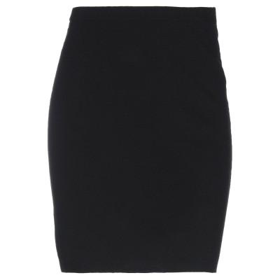 ポーツ 1961 PORTS 1961 ひざ丈スカート ブラック XS コットン 82% / ナイロン 18% ひざ丈スカート