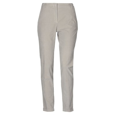 SLOWEAR パンツ ライトグレー 44 コットン 98% / ポリウレタン 2% パンツ